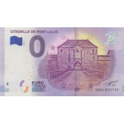 Billet souvenir - Citadelle de Port-Louis - 2018-2 - No 132