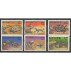 Kazakhstan - 1995 - No 53/58 - Reptiles