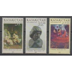 Kazakhstan - 2003 - No 367/369 - Art - Échecs