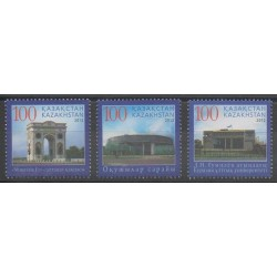 Kazakhstan - 2012 - Nb 664/666 - Monuments