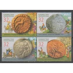 Kazakhstan - 2011 - No 604/607 - Monnaies, billets ou médailles