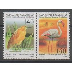 Kazakhstan - 2010 - No 589/590 - Oiseaux