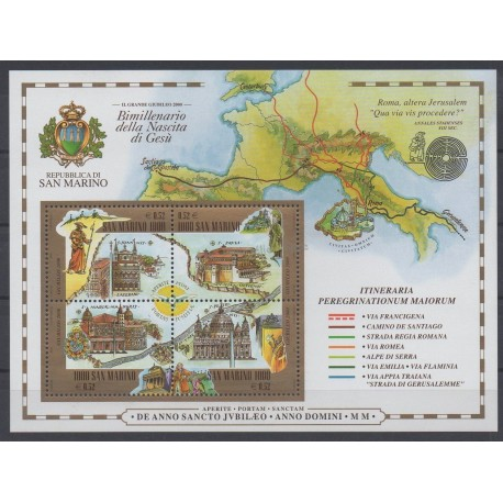 San Marino - 2000 - Nb BF 28 - Religion
