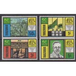 Tanzania - 1978 - Nb 89/92