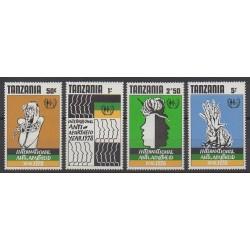 Tanzanie - 1978 - No 115/118 - Droits de l'Homme