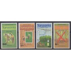Tanzanie - 1979 - No 129/132 - Environnement