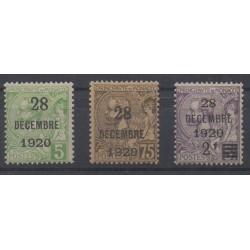 Monaco - 1921 - No 48/50