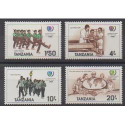 Tanzanie - 1986 - No 266P/266S - Enfance