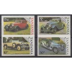 Tanzania - 1986 - Nb 267/270 - Cars