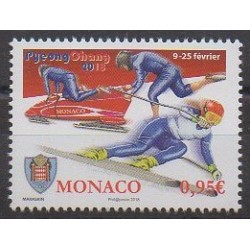 Monaco - 2018 - Nb 3120 - Winter Olympics