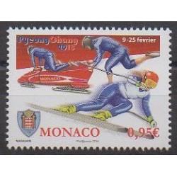 Monaco - 2018 - No 3120 - Jeux olympiques d'hiver