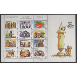Spain - 2000 - Nb 3311/3322 - Various Historics Themes - Chess