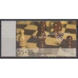 Allemagne - 2008 - No 2476 - Échecs