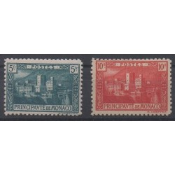 Monaco - 1922 - No 63/64