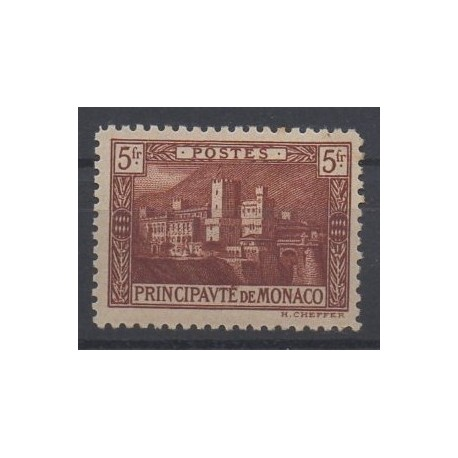 Monaco - 1922 - No 62 - Neuf avec charnière