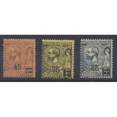 Monaco - 1924 - Nb 70/72