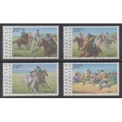 Kazakhstan - 1997 - No 166/169 - Chevaux
