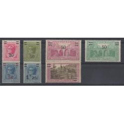 Monaco - 1926 - No 104/110