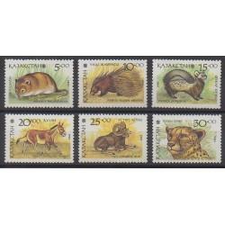 Kazakhstan - 1993 - No 20/25 - Mammifères