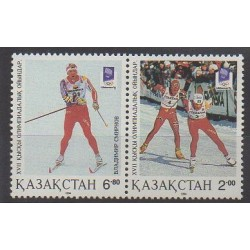 Kazakhstan - 1994 - Nb 30/31 - Winter Olympics
