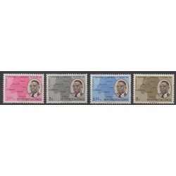 Belgium congo - republic - 1961 - Nb 437/440 - Various Historics Themes