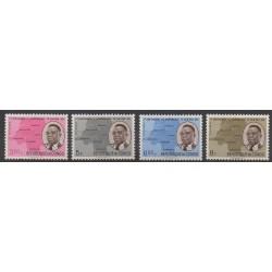 Congo belge - République - 1961 - No 437/440 - Histoire