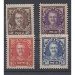 Monaco - 1933 - Nb 115/118