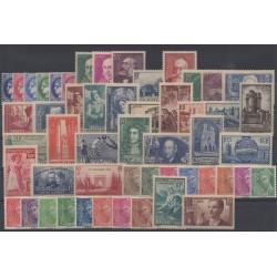 France - année complète - 1938 - No 372/418