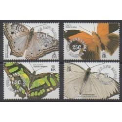 Turks et Caiques (Iles) - 1991 - No 922/925 - Insectes