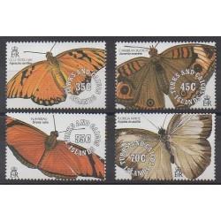 Turks et Caiques (Iles) - 1991 - No 962/965 - Insectes
