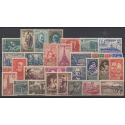 France - année complète - 1939 - No 419/450