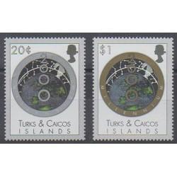 Turks et Caiques (Iles) - 1999 - No 1352/1353