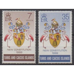 Turks and Caicos ( Islands) - 1970 - Nb 241/242 - Various Historics Themes