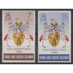 Turks et Caiques (Iles) - 1970 - No 241/242 - Histoire
