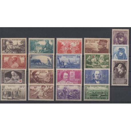France - 1940 - No 451/469