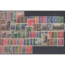 France - 1941 - Nb 470/537