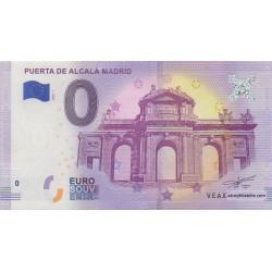 Billet souvenir - Puerta De Alcalá Madrid - 2018-1