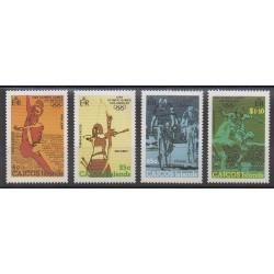 Caiques (Iles) - 1984 - No 31/34 - Jeux Olympiques d'été