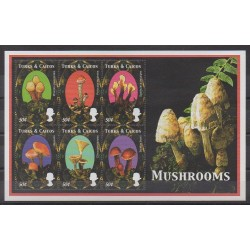 Turks and Caicos ( Islands) - 2000 - Nb 1363/1368 - Mushrooms