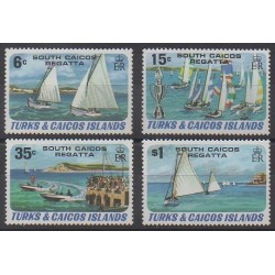 Turks and Caicos ( Islands) - 1980 - Nb 513/516 - Boats