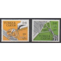 Turks et Caiques (Iles) - 1980 - No 486/487 - Philatélie