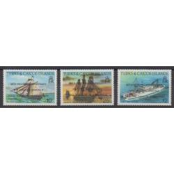 Turks et Caiques (Iles) - 1988 - No 785/787 - Navigation