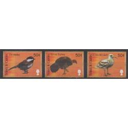 Turks et Caiques (Iles) - 2000 - No 1391/1393 - Oiseaux