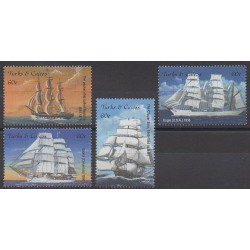 Turks et Caiques (Iles) - 2001 - No 1428/1431 - Navigation