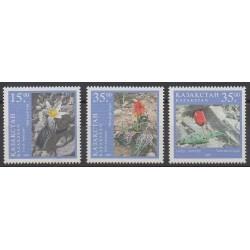 Kazakhstan - 1997 - No 152/154 - Fleurs