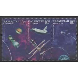 Kazakhstan - 1997 - No 143/145 - Espace