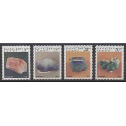 Kazakhstan - 1997 - No 158/161 - Minéraux - Pierres précieuses
