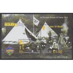 Man (Ile de) - 2007 - No BF68 - Scoutisme