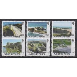Aurigny (Alderney) - 2015 - No 533/538 - Histoire militaire