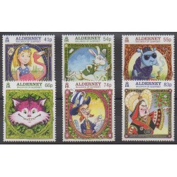 Aurigny (Alderney) - 2015 - Nb 520/525 - Literature